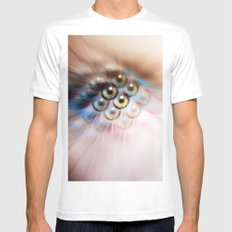 Look Deeper SMALL White Mens Fitted Tee
