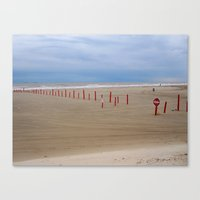 Reds And Blues Canvas Print