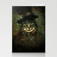 The other cat in the hat Stationery Cards