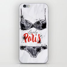 Lovely Paris iPhone & iPod Skin
