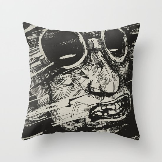 Speed Of Life II. Throw Pillow