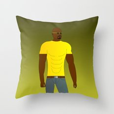 Luke Cage Throw Pillow