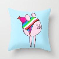 Altiplánico Throw Pillow