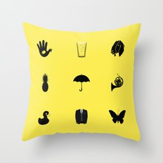 How I Met Your Mother Throw Pillow