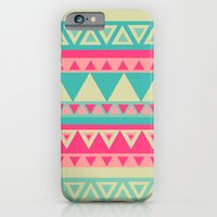 iPhone & iPod Case featuring Tropical Tribal by haleyivers