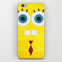 Minimal Sponge iPhone & iPod Skin