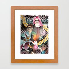 Urban Playground Framed Art Print