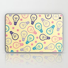 Cute Pastels Light bulb Pattern Laptop & iPad Skin