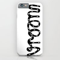 VROOM - handlettering - this is what a VW Beetle would say. I think. iPhone 6 Slim Case