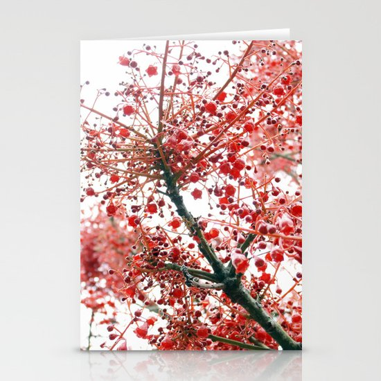 Star Berries Stationery Card