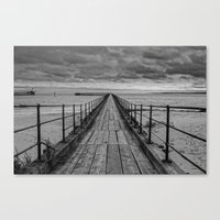 The Pier. Canvas Print