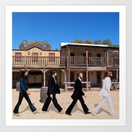 Art Print featuring Abbey Road by EARTh
