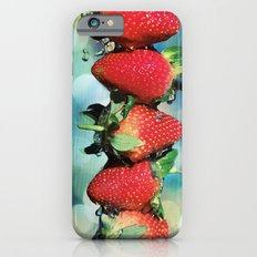 Berry Bokeh iPhone 6 Slim Case