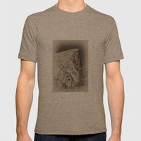 Yosemite Half Domes Back… Mens Fitted Tee Tri-Coffee SMALL
