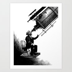 Who's Looking at Who? Art Print