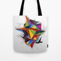 Abstract Geometric Art Tote Bag