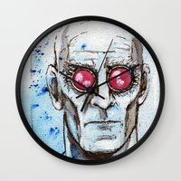 Dr Victor Fries Wall Clock