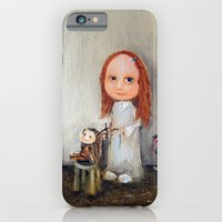 iPhone & iPod Case featuring Small Barber by Monica Blatton