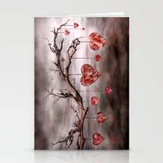 The new love tree Stationery Cards