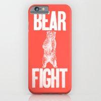 Bear Fight iPhone 6 Slim Case