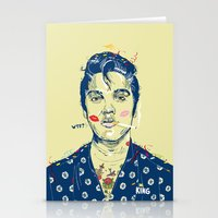WTF? ELVIS MORNING PARTY Stationery Cards