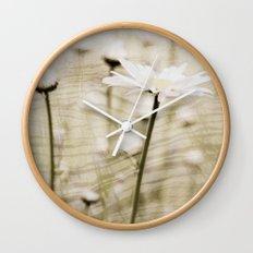 Daisy Fields 4eva Wall Clock
