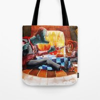 Dinner time Tote Bag