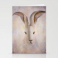 Madame Rabbit Stationery Cards