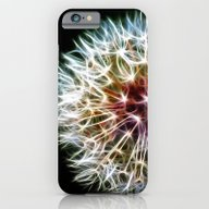 iPhone & iPod Case featuring Fractal Dandelion by Mark Nelson