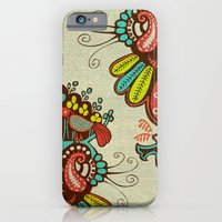 Harmony birds iPhone 6 Slim Case
