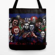 Horror Villains Selfie Tote Bag