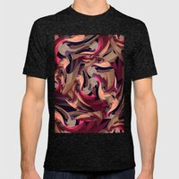 Safe Mens Fitted Tee Tri-Black SMALL