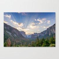 Yosemite Sunrise Canvas Print