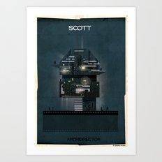 024_ARCHIDIRECTOR_Ridley Scott Art Print