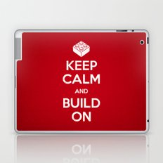 Keep Calm and Build On Laptop & iPad Skin