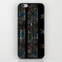 DC Flag Lichen iPhone & iPod Skin