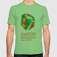 Shape Mens Fitted Tee Grass SMALL