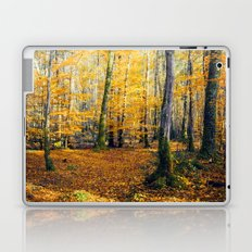 Yellow Trees Laptop & iPad Skin