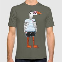 goose Mens Fitted Tee Lieutenant SMALL