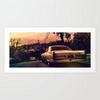 Silverlake Vista Art Print