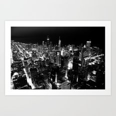 The City Where Wind Blow Art Print