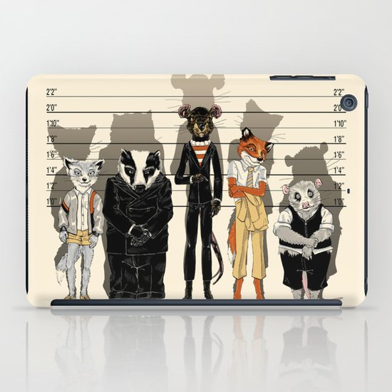 Unusual Suspects iPad Case