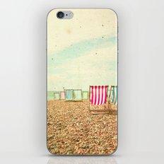Deckchairs iPhone & iPod Skin