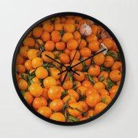 Clémentine Feuille Wall Clock