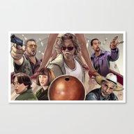 Big Lebowski (alt Versio… Canvas Print