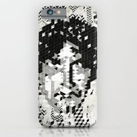 iPhone & iPod Case featuring Cube Head by FAMOUS WHEN DEAD