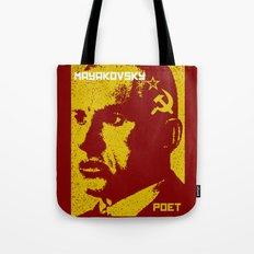 Vladimir Mayakovsky, Soviet Poet Tote Bag