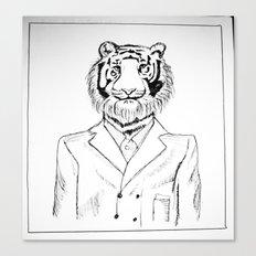 Fine Feline  Canvas Print