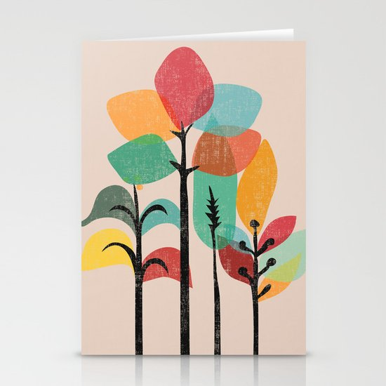 Tropical Groove Stationery Card