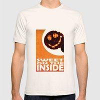 Sweet On The Inside Mens Fitted Tee Natural SMALL